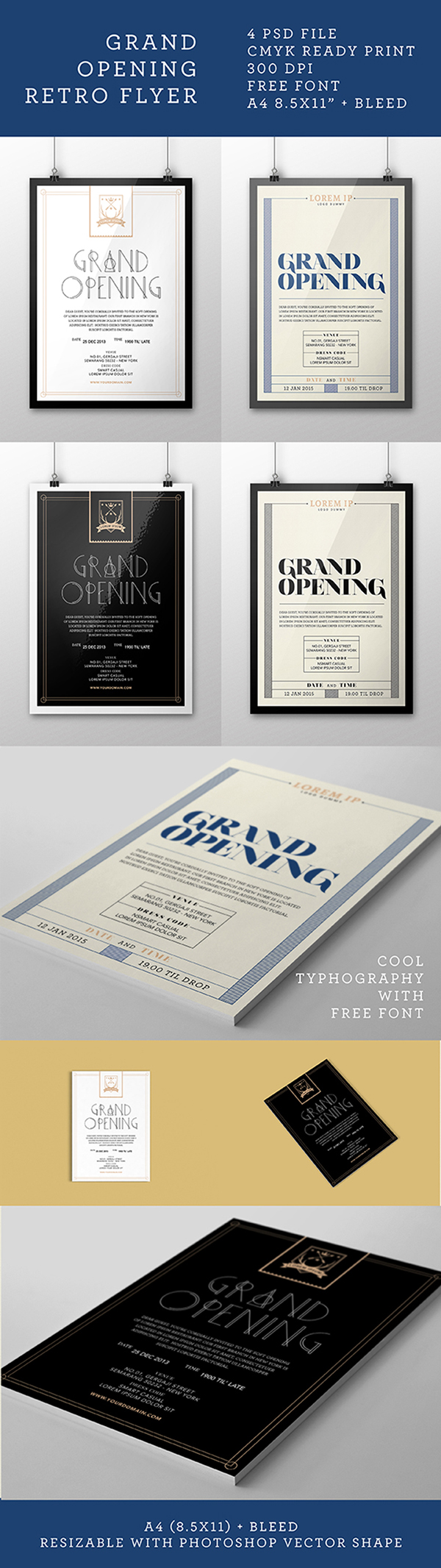 Free] Grand Opening Flyer on Behance | inspiration for others\' work ...