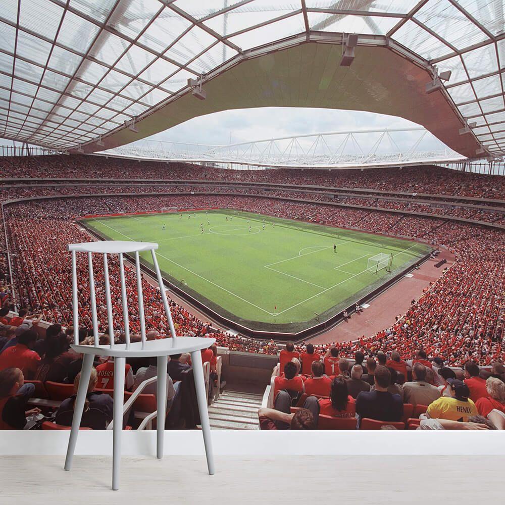 Best Emirates Stadium Arsenal Wall Mural In 2020 Wall Murals Stadium Wallpaper Wall Wallpaper 640 x 480