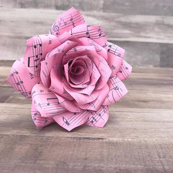 Music note flower paperflowers musicflower paper flowers music note flower paperflowers musicflower mightylinksfo