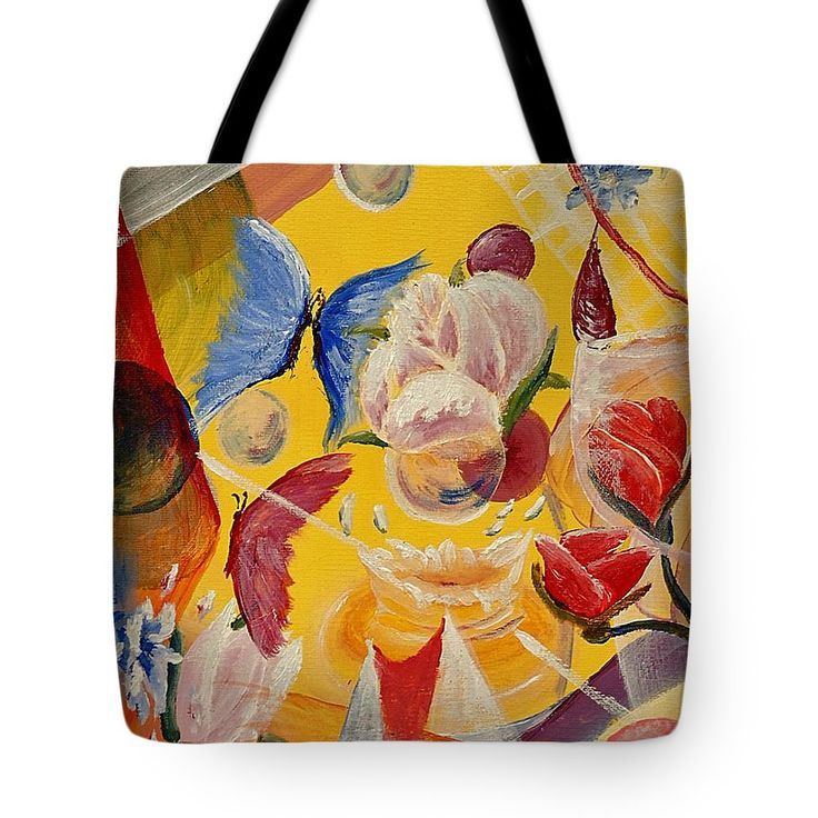 af03d8cb61a1 Butterfly Dance Tote Bag - personalized design tote bag with beautiful  butterfly dancing in flowers art