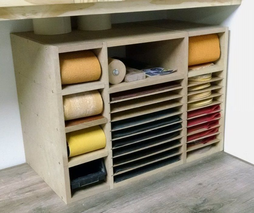 Sandpaper Storage Idea   Google Search