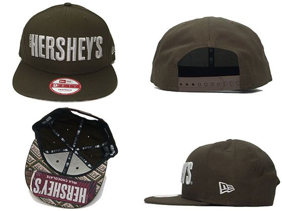 brand new c5f0d 82544 New Era x HERSHEYS - Snack Series 9FIFTY Snapback Caps