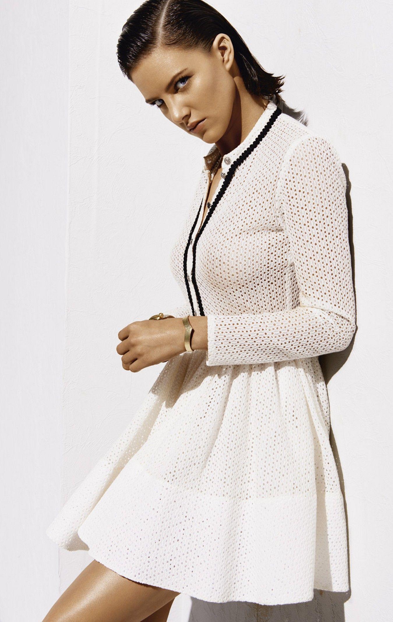 robe maje blanche 2015