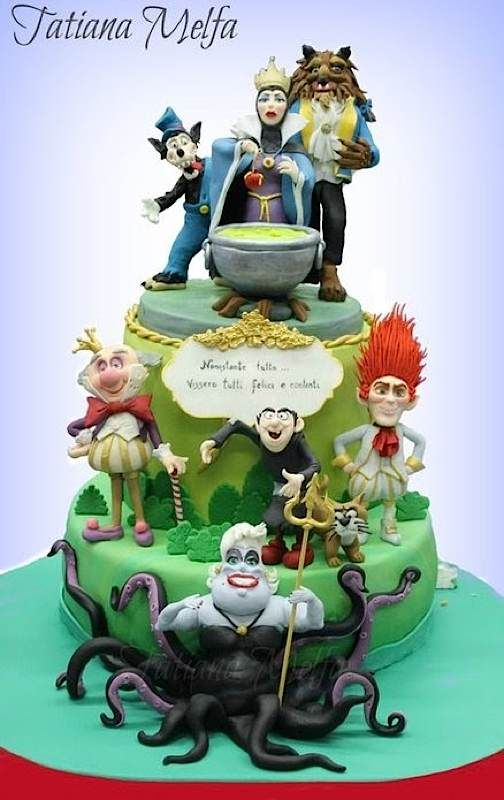 Villains Cakes WOW Pinterest Cake Amazing cakes and