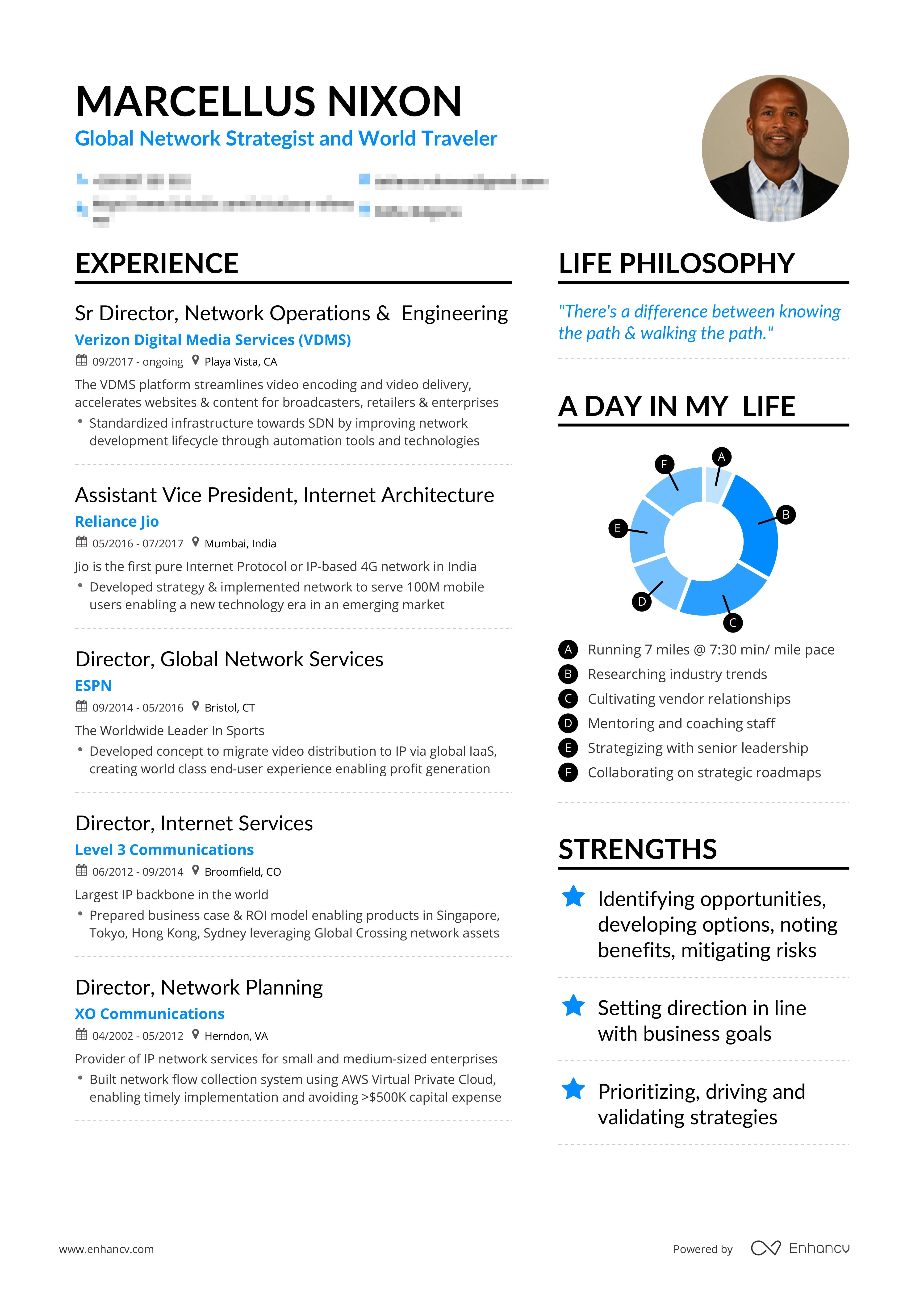 Example Of Successful Network Engineer Resume Resume Examples Free Resume Examples Resume