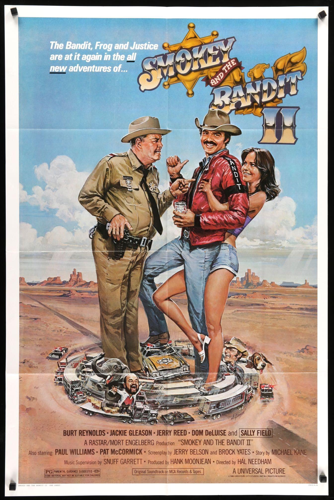 Smokey And The Bandit Movie Poster Print Action Adv - 1 Sheet Artwork 1977
