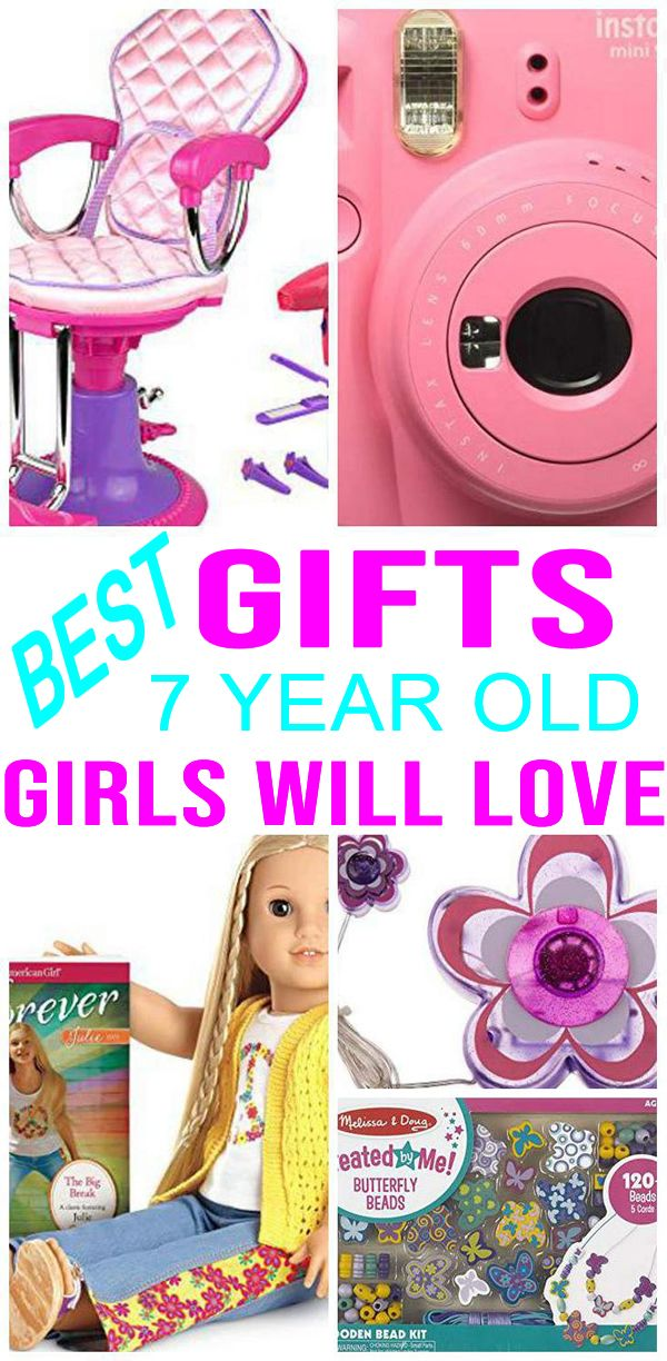 BEST Gifts 7 Year Old Girls Will Love | 7 year old ...