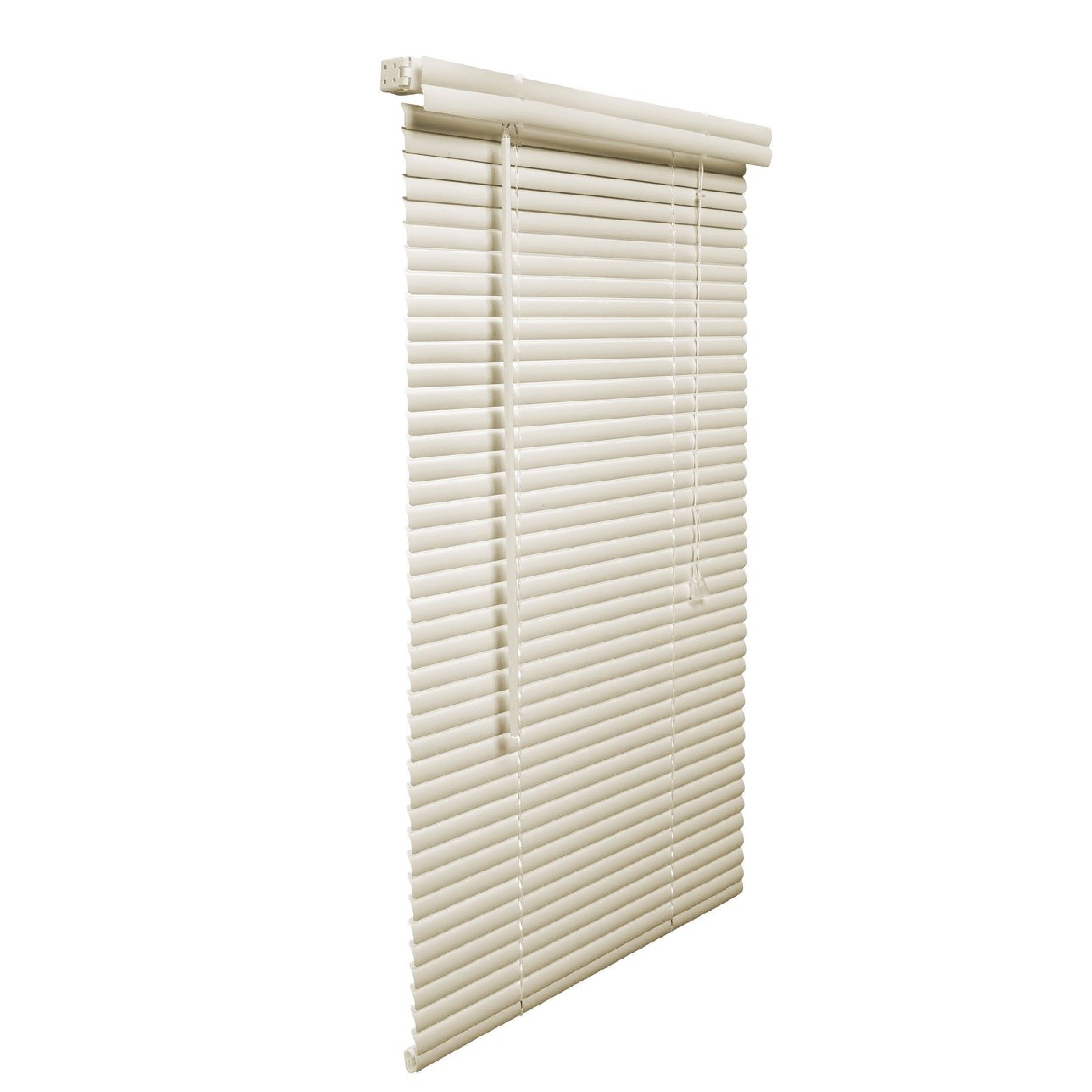 Lotus Vinyl Plus Alabaster 1 Inch X 22 30 Inch Blinds Alabaster 30 Inches Wide X 48 Inches Long Beige Off White Pv Blinds Vinyl Blinds Vinyl Mini Blinds