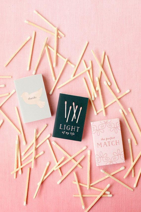 DIY cute matchboxes for a match made in heaven.   Inspirações de ...