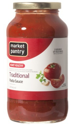 Market Pantry Pasta Sauce Only $0.24! - http://www.rakinginthesavings.com/market-pantry-pasta-sauce-only-0-24/
