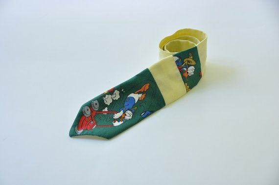 Kids necktie - Donald Duck necktie - Donald Duck tie - Donald Duck boy tie - Kids necktie - Boy tie