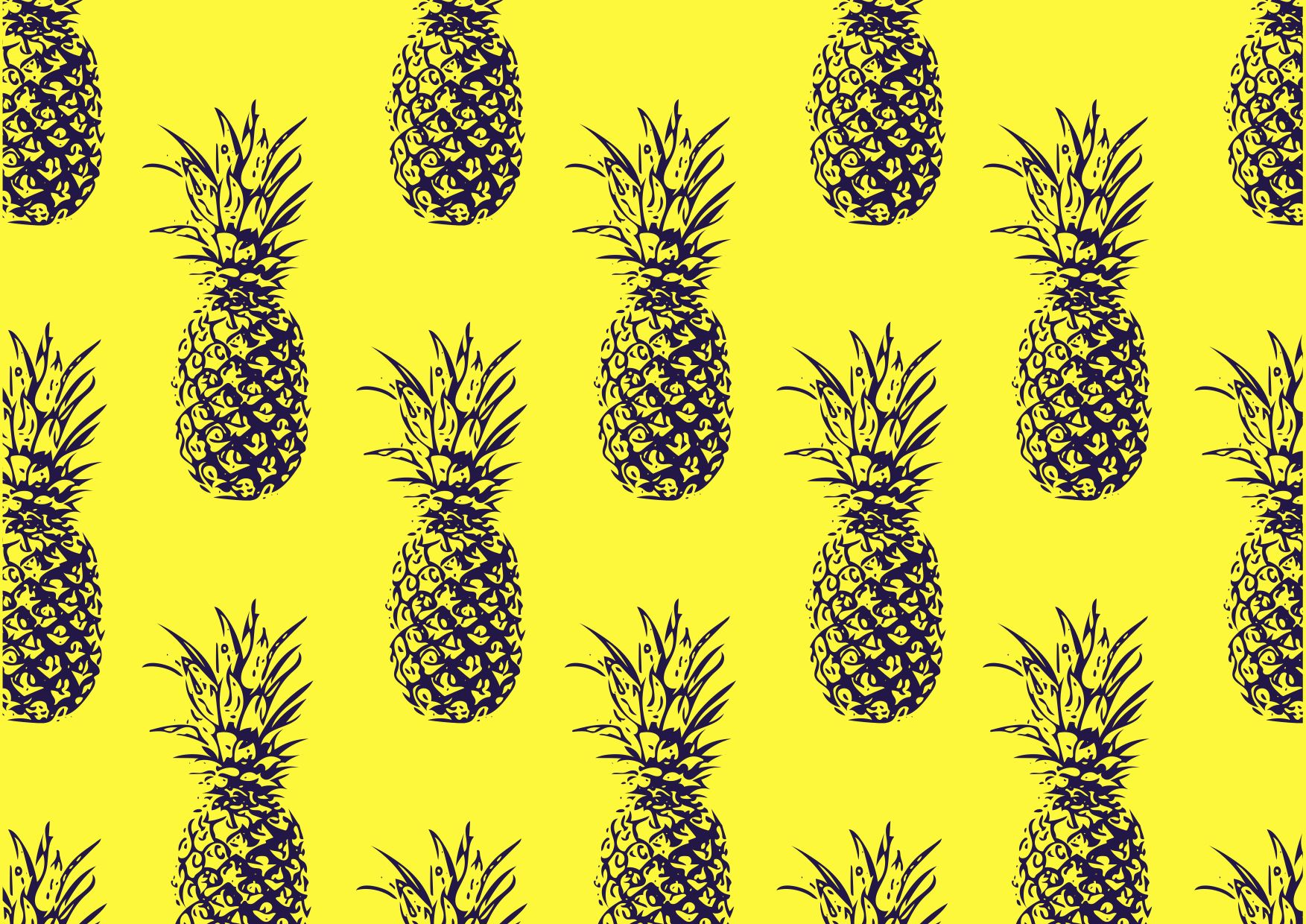 DRESS UP YOUR TECH Aesthetic wallpapers, Pineapple