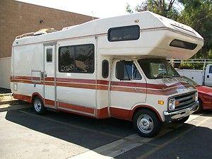 1979 Dodge Robin Hood | Motorhomes | Truck bed camper, Suv