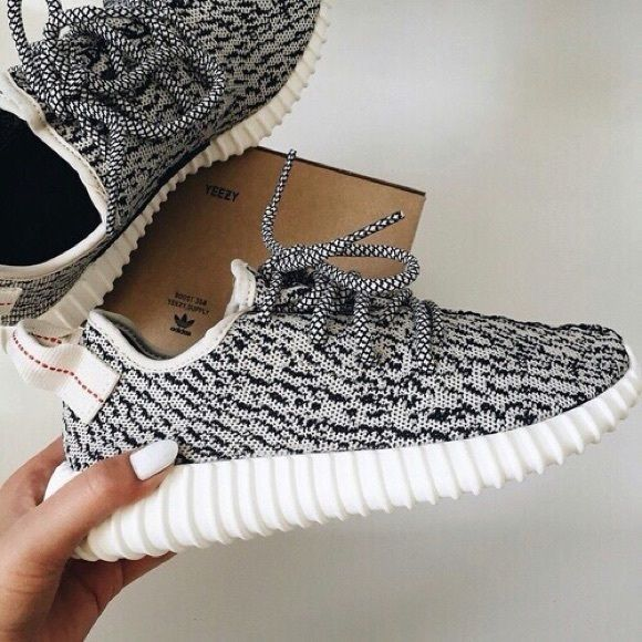 85ca2114cfc grey yeezys black and white yeezys only worn 2 times Yeezy Shoes Sneakers