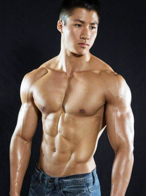 Gay muscle asian