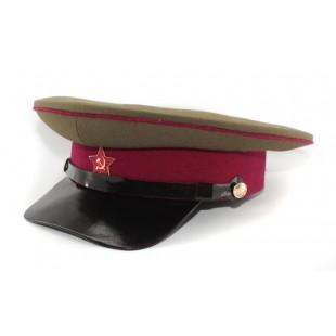 Soviet Russian Rkka Infantry Officer S Visor Hat Red Army Cap Soviet Red Army Red Army Army Hat
