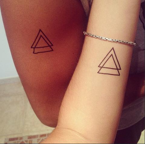 pin von dcer tattoo auf dcer x fans triangle tattoos. Black Bedroom Furniture Sets. Home Design Ideas