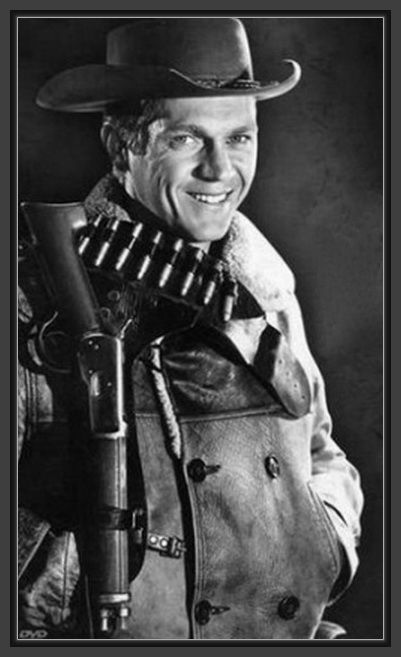 Steve Mcqueen Starred In A Por Tv Series Wanted Dead Or Alive As The Bounty Hunter Josh Randall It Aired On Cbs For Three Seasons From 1958 61