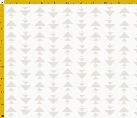 Grey Crib Sheet, Baby or Toddler Fitted Crib Sheet, Gender Neutral Nursery, Geometric Triangle Crib Sheet, Light Grey