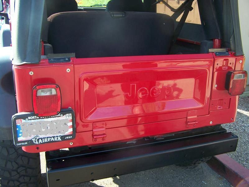 CJ To Lj Tailgate Conversion - American Expedition Vehicles ...