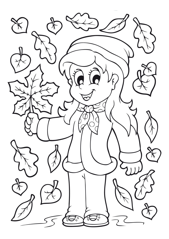 Dibujos De Otono Para Colorear E Imprimir Gratis Dibujos De Otono Paginas Para Colorear Hojas Para Colorear De Ninos
