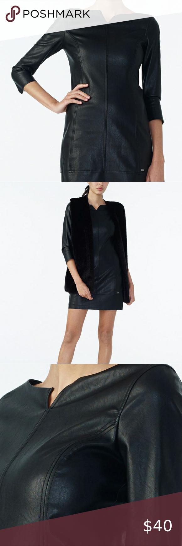 24++ Armani exchange faux leather dress ideas