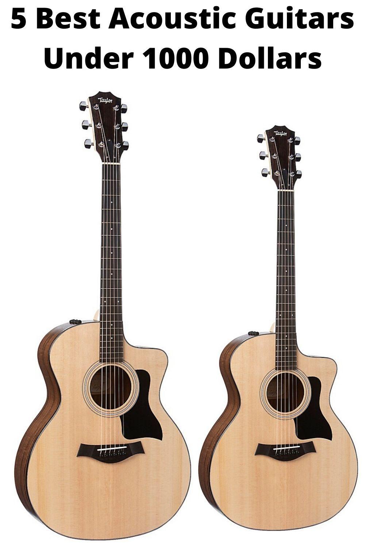 5 Best Acoustic Guitars Under 1000 Dollars Best Acoustic Guitar Yamaha Guitar Acoustic Guitar
