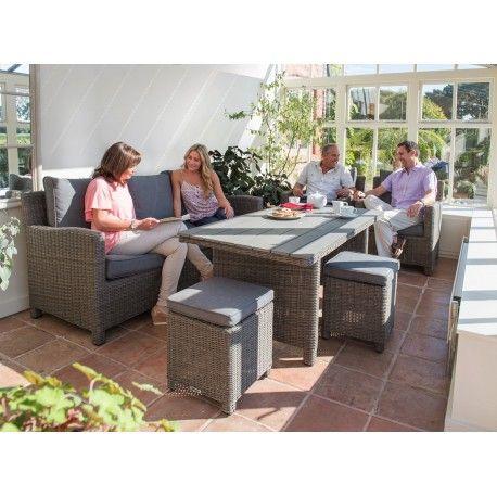 Kettler Palma Sofa Set - Rattan