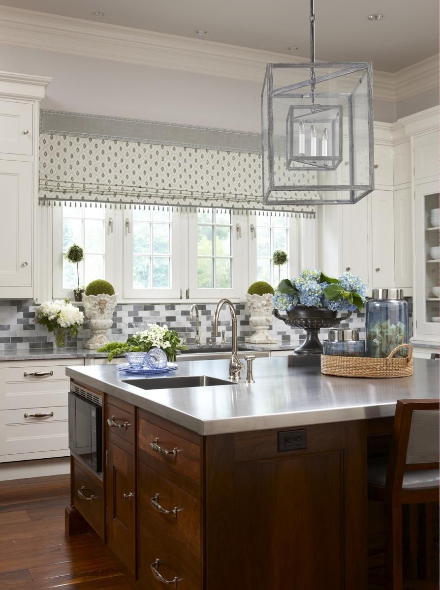 Kitchen Design Classes Mesmerizing New England Home Magazine Light Fixture Prep Sink Windows Design Inspiration