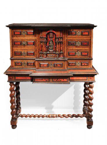 cabinet louis xiii mobilier de salon