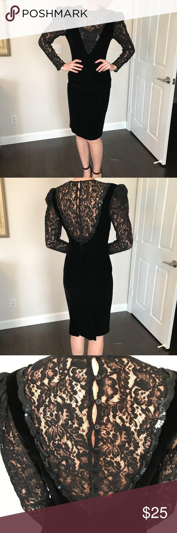 Vintage Black Lace Dress Vintage Black Lace Dress Black Lace Dress Lace Dress [ 1740 x 580 Pixel ]