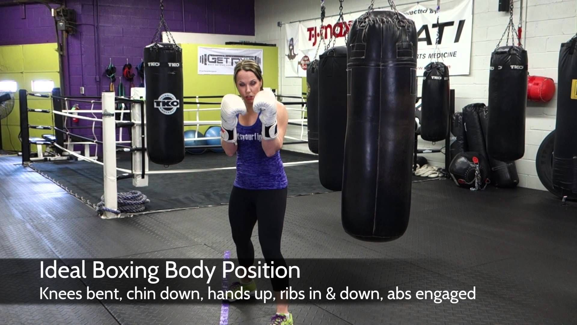 3 25 14 Knockout Tip Tuesday Body Position Body Excercise Boxing Club