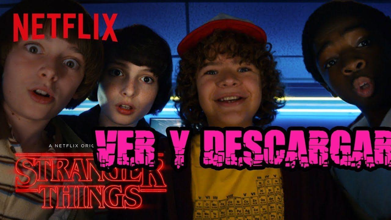 Stranger Things (Ver Online) Temporada 1 Completa Español