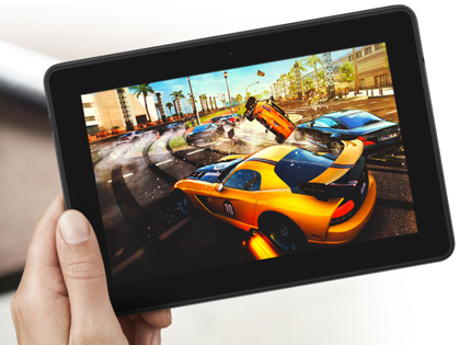 Win a Kindle Fire HD at Entr.co