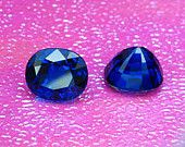 4.59 CT. Lab Created Spinel Blue Oval