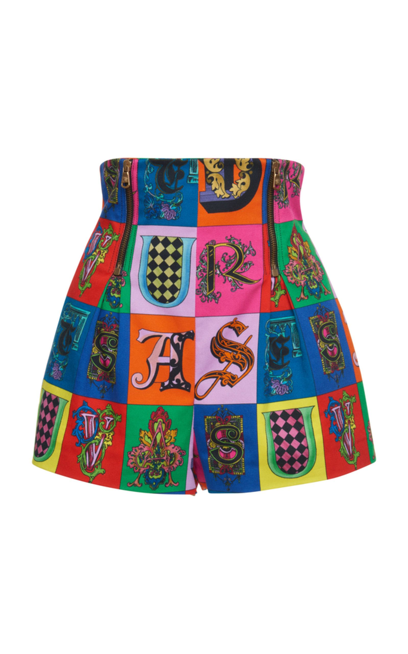 High Rise Graphic Short - Moda Operandi