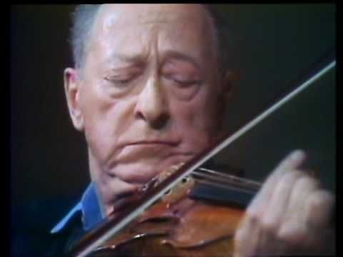 ▶ Jascha Heifetz - Bach, Chaconne From Partita No.2 In D Minor, BWV 1004 - YouTube