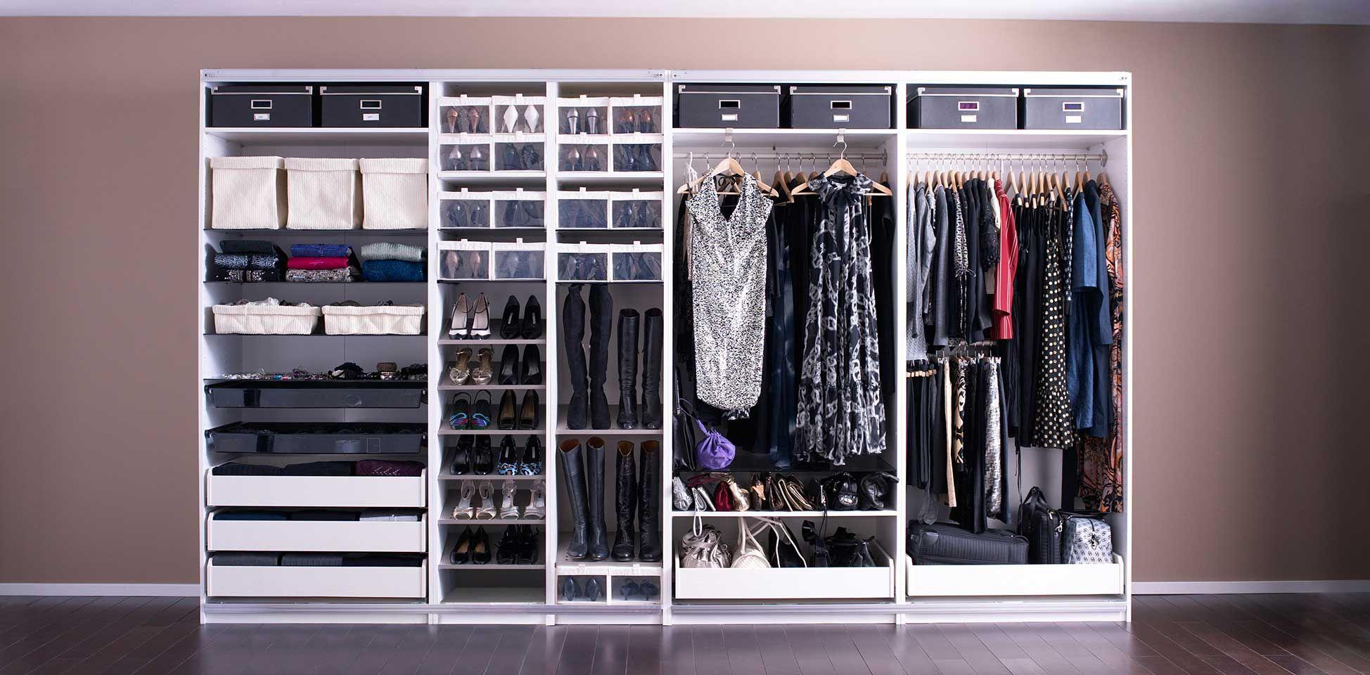 Armarios donde todo encaja | Dormitorios | Pinterest | Armario ...