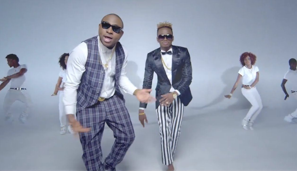 Diamond Feat Davido - Number One Remix (Official Video