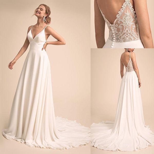 Ich liebe dieses Kleid. Die Vorderseite ist einfach und schön und die Rückseit… – Hochzeitskleid