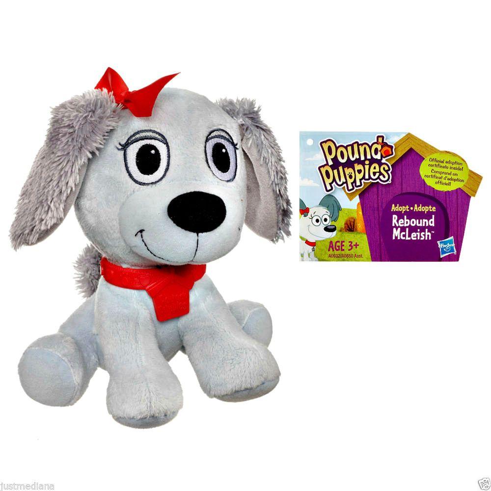 Hasbro Pound Puppie Rebound McLeish Adorable Mini Lt Blue Soft