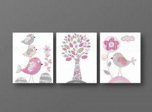 fourniture pour chambre de bébé | deco chambre fille rose et gris ...