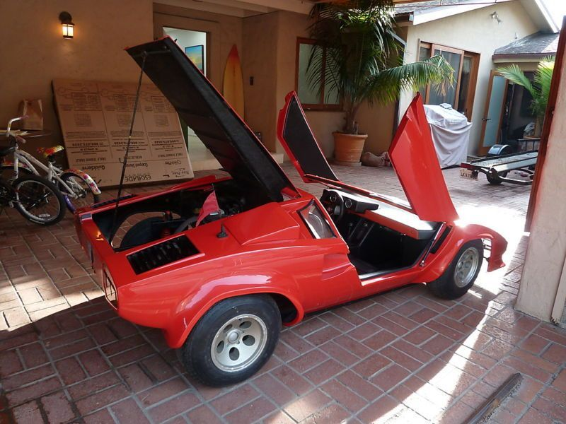 Lamborghini Countach Scale Toy 1 Junior Go Karts Pedal Cars