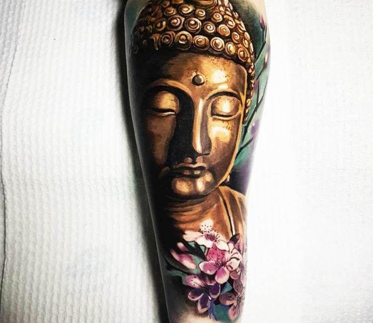 Buddha Tattoo By Jason Baker Post 19576 Buddha Tattoo Tattoos Gold Tattoo