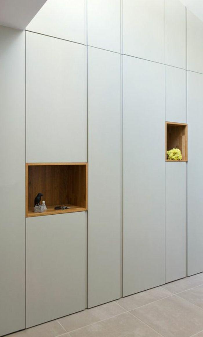 einbauschr nke praktische l sung f r h chste anspr che garderobe pinterest. Black Bedroom Furniture Sets. Home Design Ideas