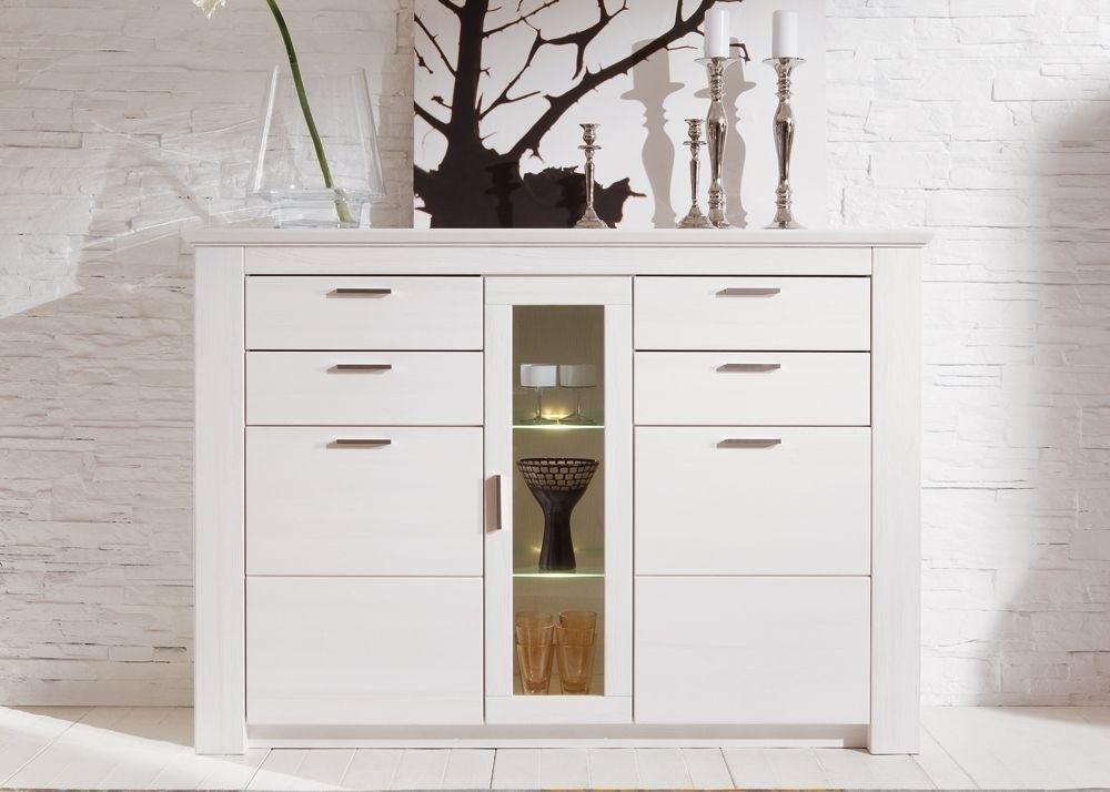 Highboard Country Weiß 8763 Buy now at https\/\/wwwmoebel-wohnbar - landhausmöbel weiss wohnzimmer