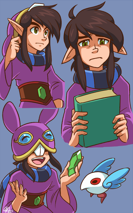 I think Ravio might be a book worm<3