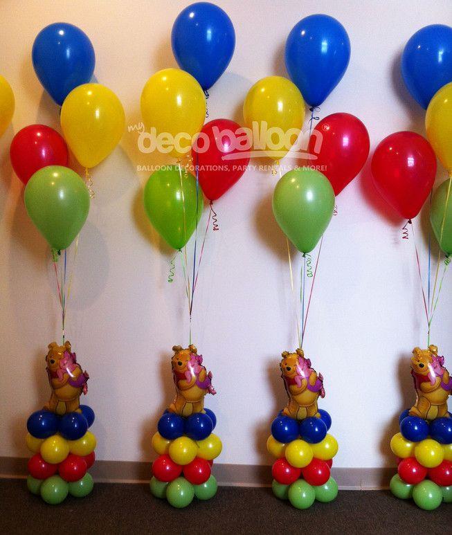 Winnie the Pooh Balloon Decorations | Balloons | Pinterest