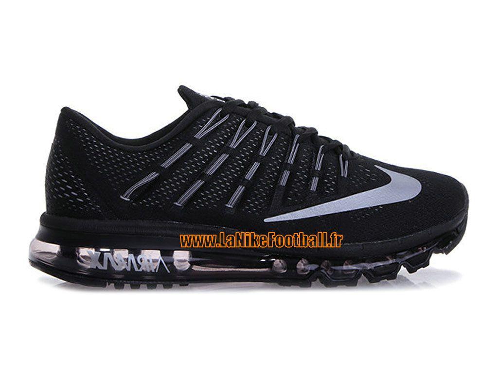 new concept e47a6 ca5d5 Nike Air Max 2016 Chaussures Nike Sportswear Pas Cher Pour Homme Noir Blanc  764892-001