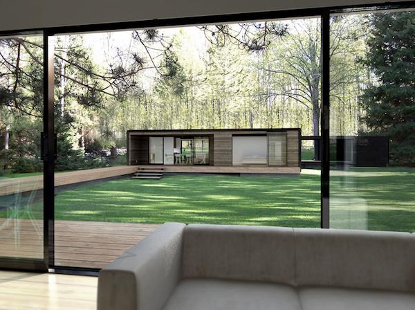 Modular Home Modern Design Guest House